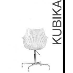 Cadeira Kubika Policarbonato transparente