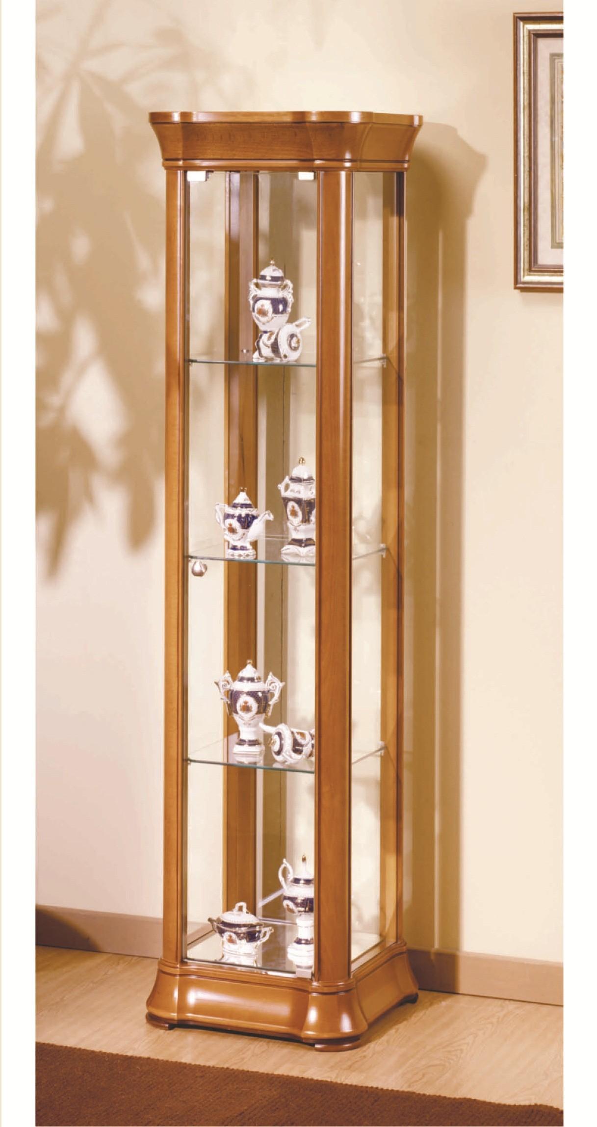 vitrine lux quadrada alta ref 233 438 85. Black Bedroom Furniture Sets. Home Design Ideas