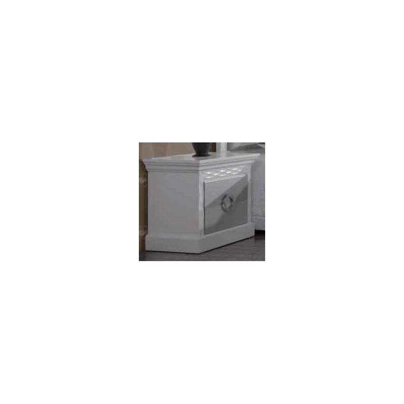 Mesa de cabeceira Onda D´Prata Ref.: 633