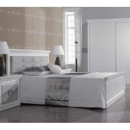 Couple Bed Onda D´Prata Ref.: 953