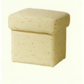Puff Baby Quadrado de tecido ou sintético