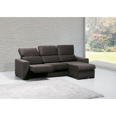 Sofá Raquel 2 lug + chaise long