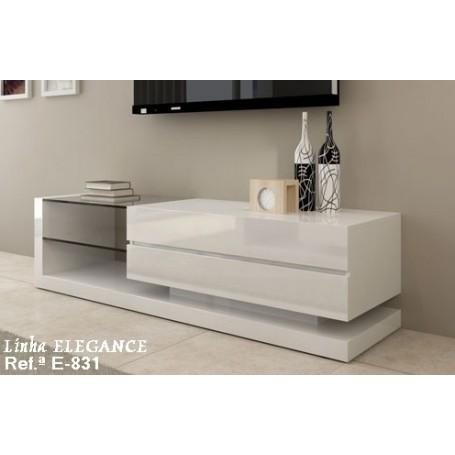Móvel TV Elegance E 831 Lacado Semi brilho