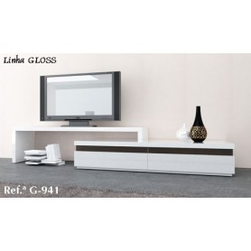 Móvel TV Gloss G 941 lacado semi brilho