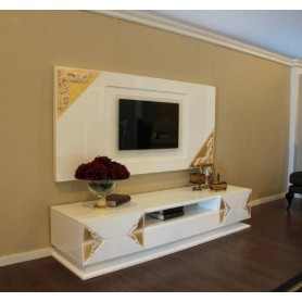 Sala Estar White/Gold Collection M317