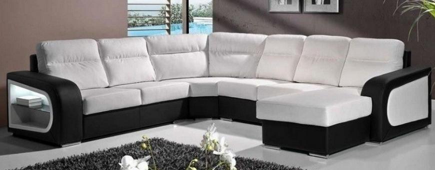 100% Natural Leather Sofa